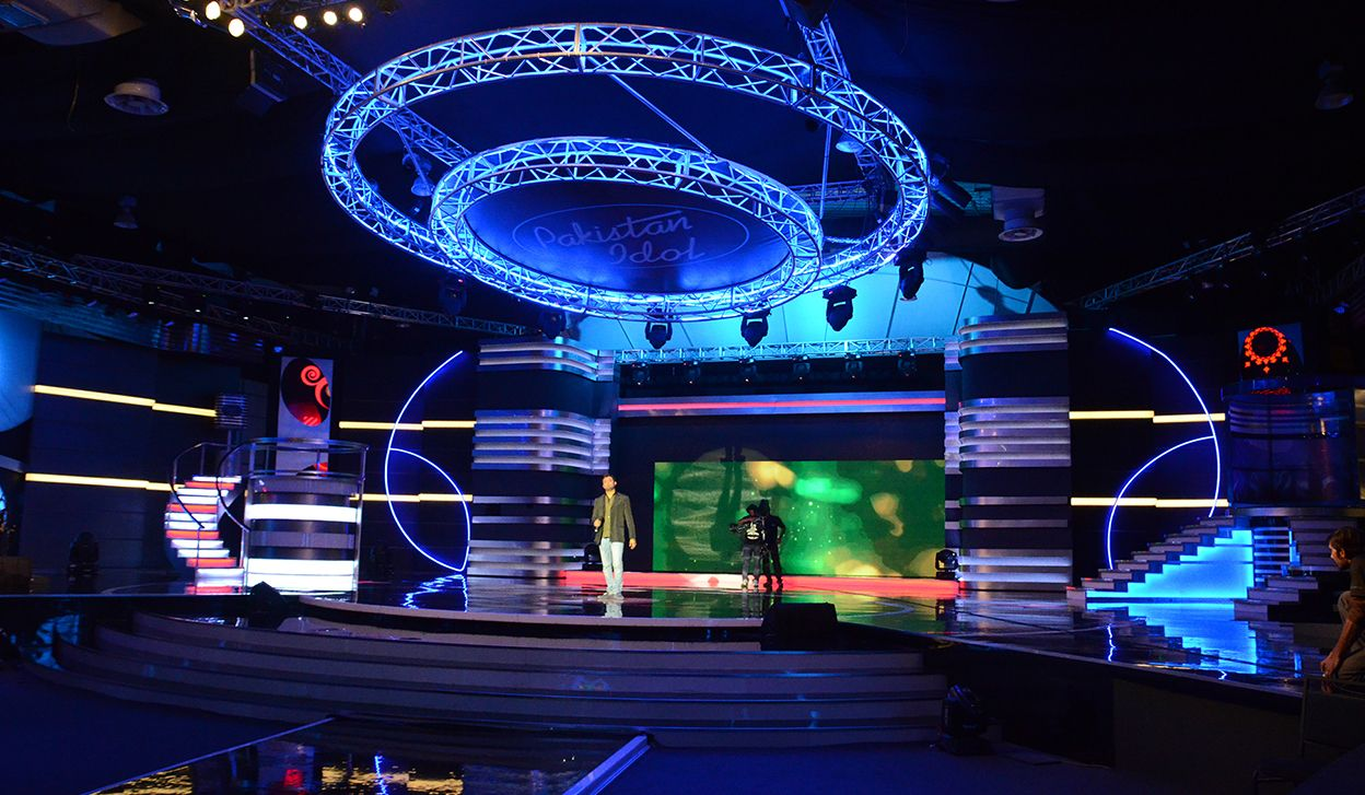 Pakistan Idol 2014 Set Design - PaintedLens